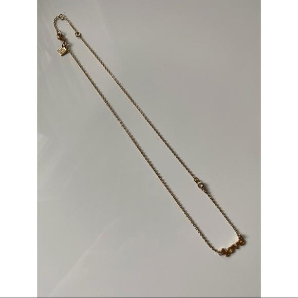Banana Republic Gold Fashion Love Necklace
